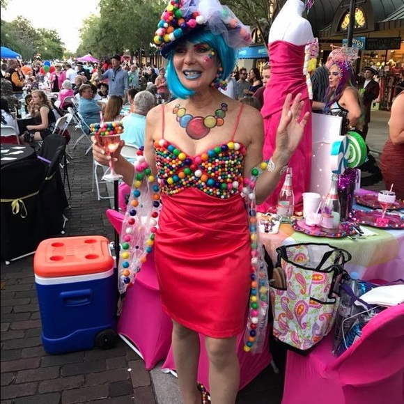 Custom Other Bubble Gum Costume With Shoes And Blue Wig Poshmark